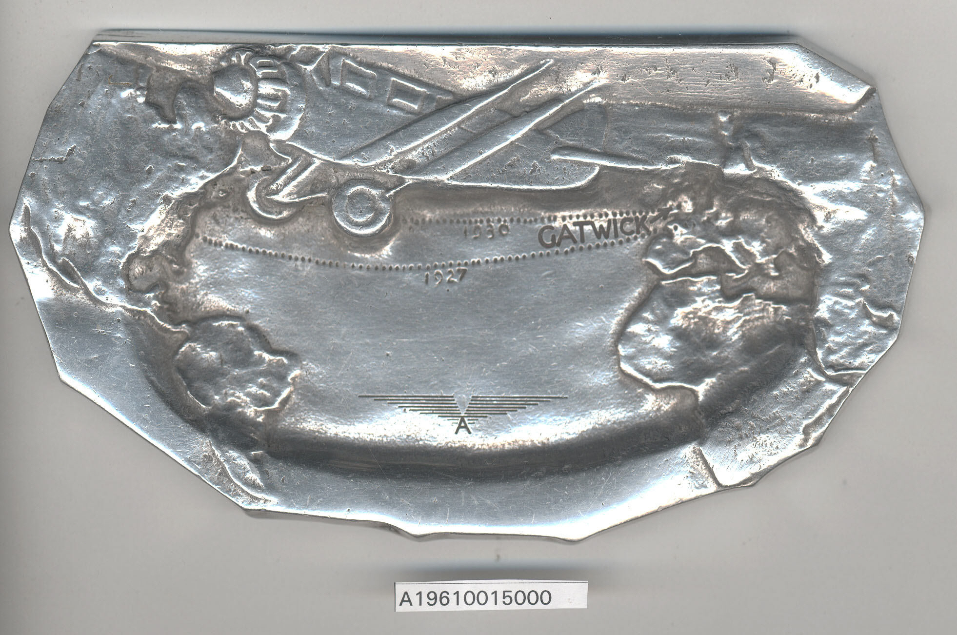 Image of : Ashtray, Wright-Bellanca W.B. 2 Columbia