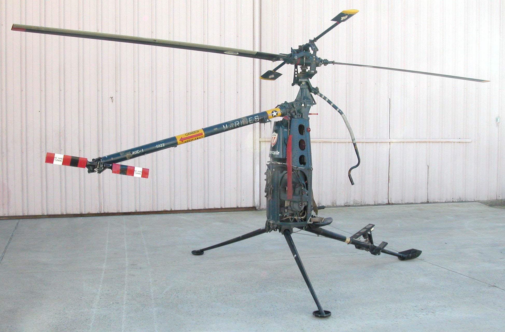 Image of : Hiller YROE-1 Rotorcycle