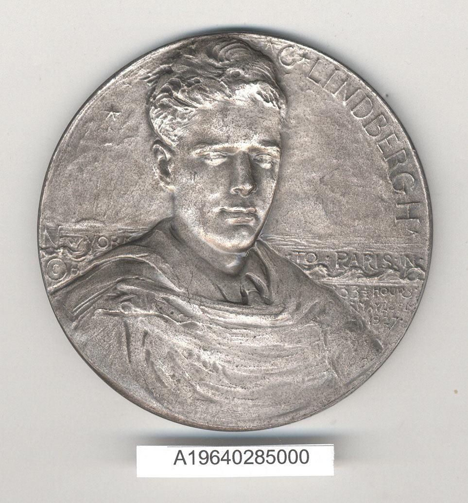 Image of : Medal, Commemorative, Charles A. Lindbergh