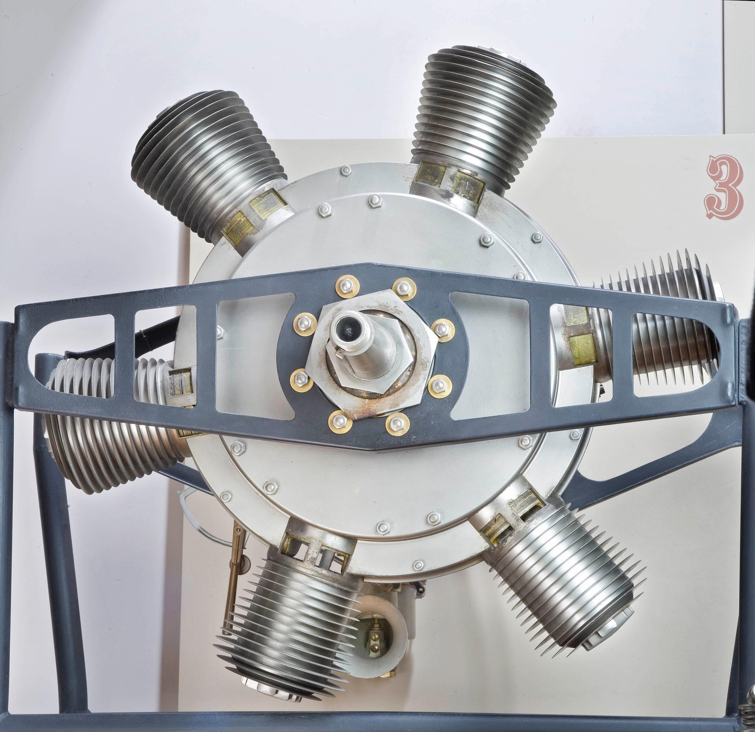Image of : Murray Rotary 6 Engine