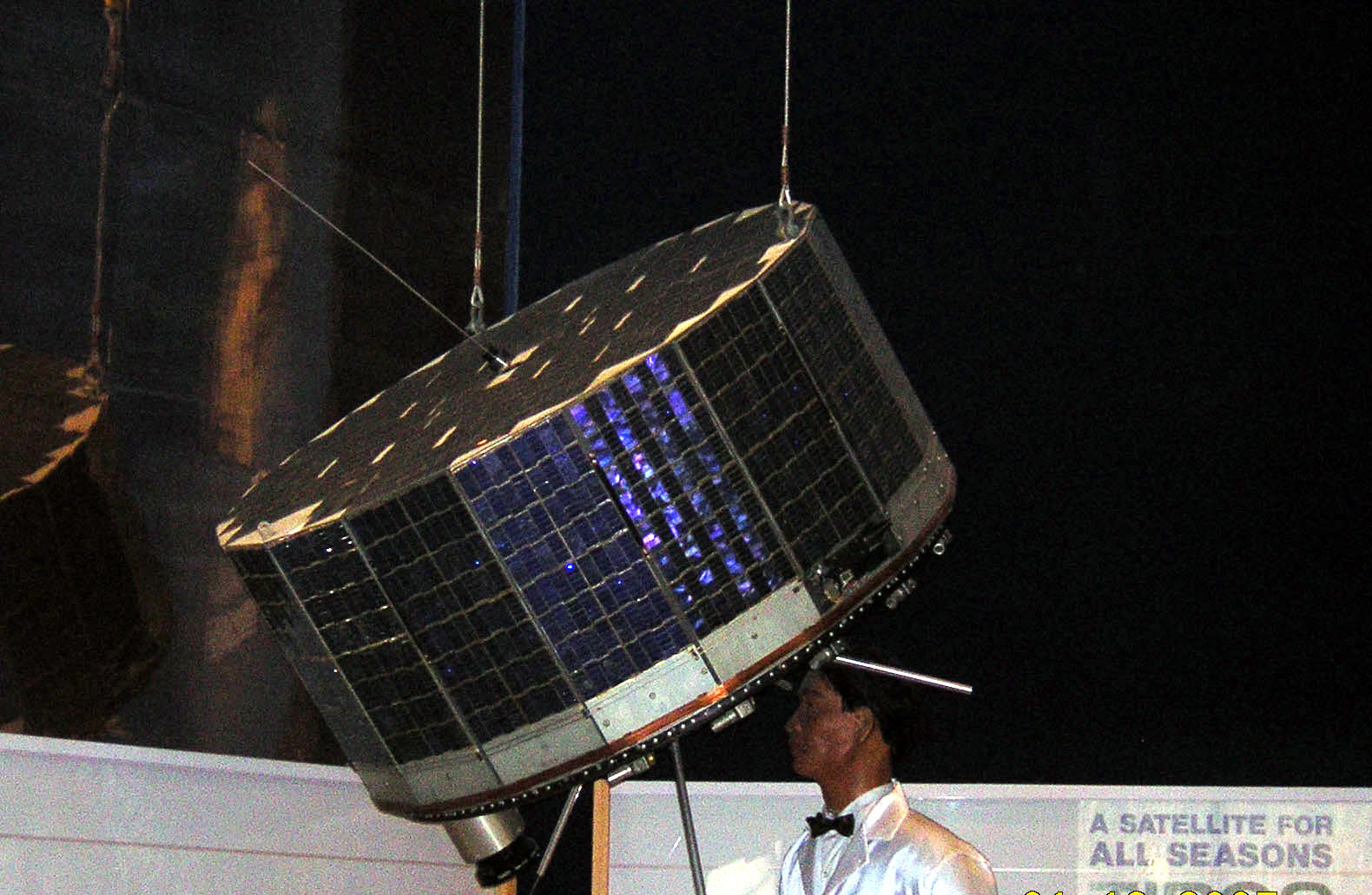 Image of : Meteorological Satellite, TIROS