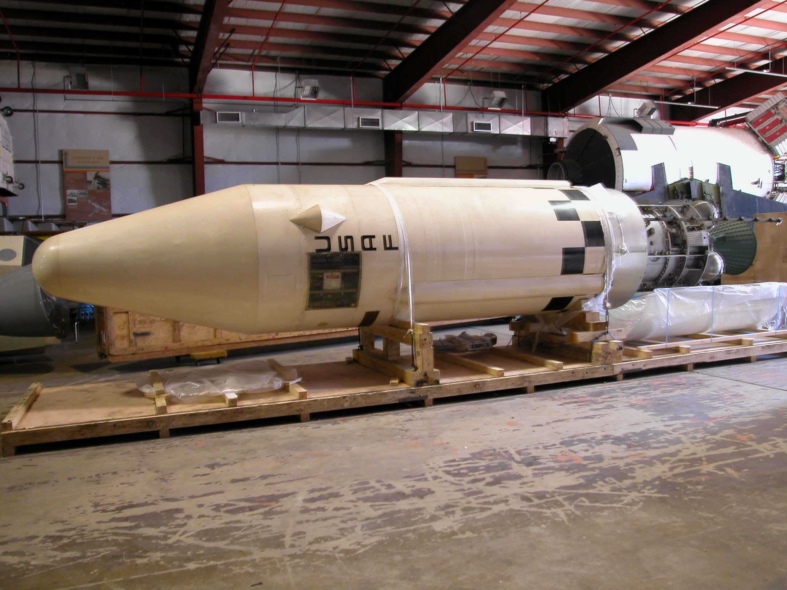 Image of : Upper Stage, Launch Vehicle, Agena-B