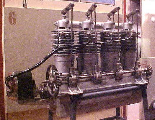 Image of : Kemp (Grey Eagle) I-4 or D-4, In-line 4 Engine