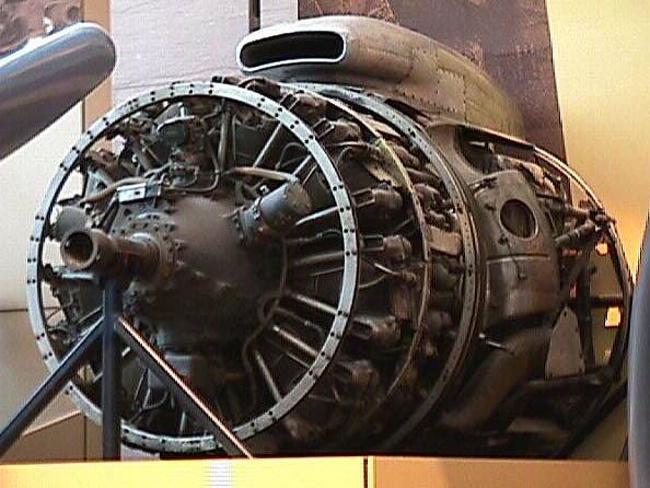 Image of : Wright Turbo-Cyclone 18R-3350-TC (972TC18DA2), 2-Row, Radial Engine