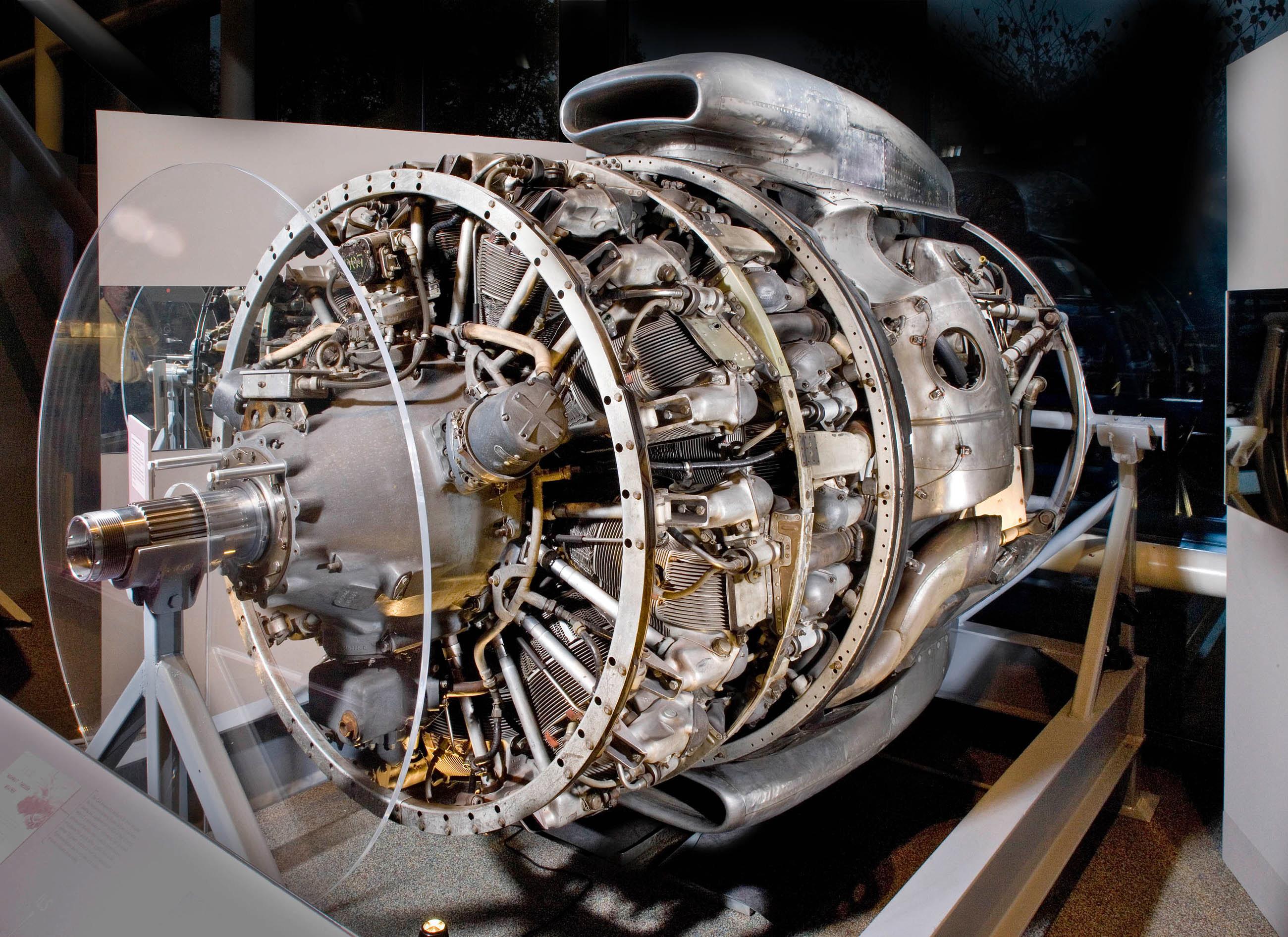 Wright Turbo-Cyclone 18R-3350-TC Radial Engine