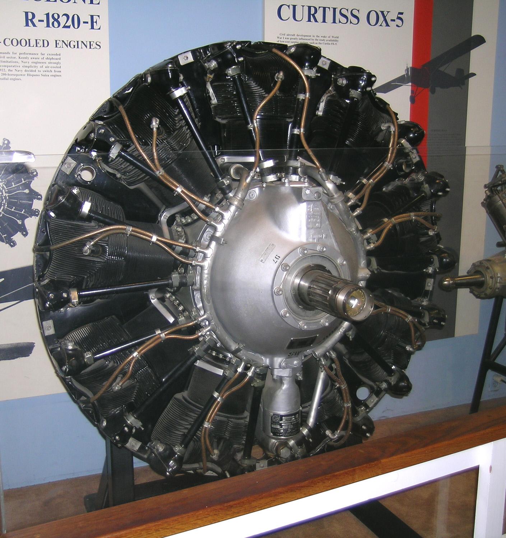 Image of : Wright Cyclone R-1820-97 (Studebaker), Radial 9 Engine