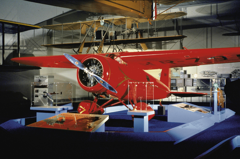 Image of : Lockheed Vega 5B, Amelia Earhart