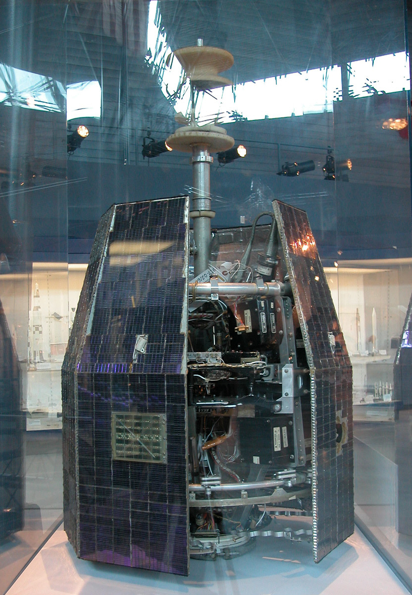 Image of : Communications Satellite, Relay 1