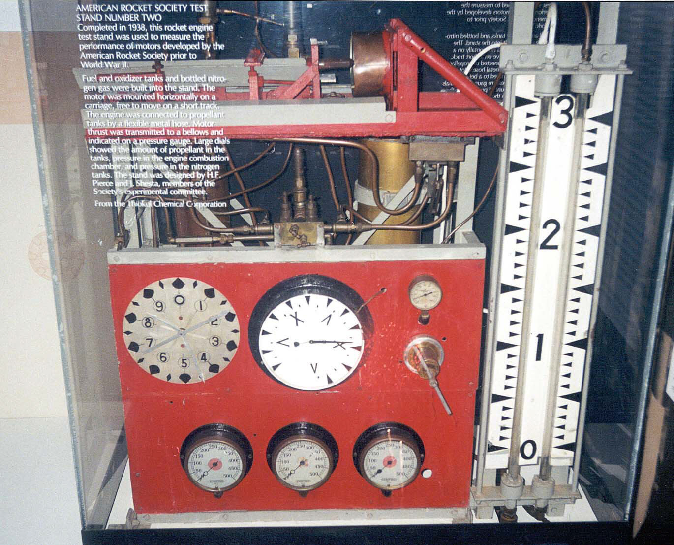 Image of : Rocket Test Stand No. 2, American Rocket Society (ARS)