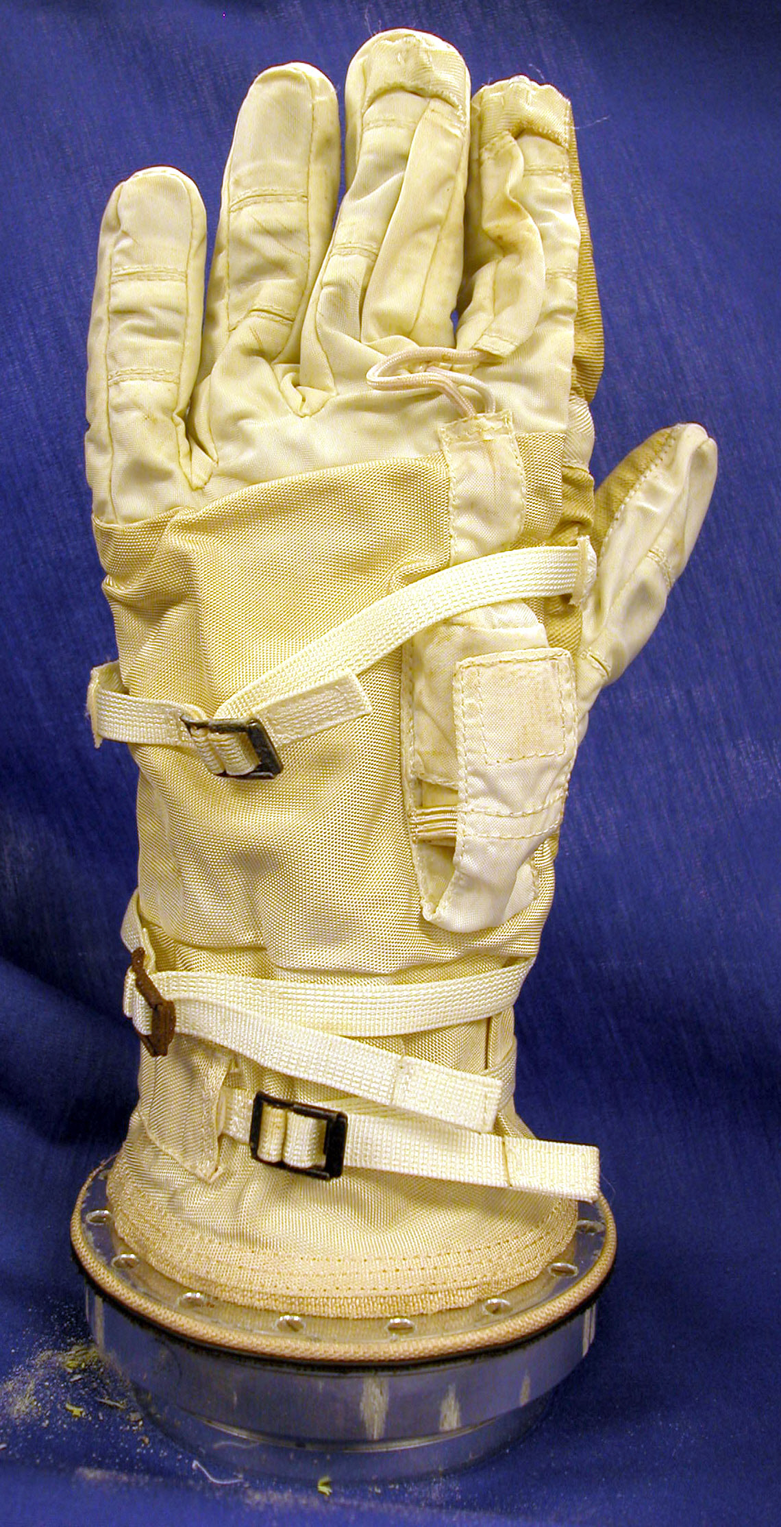 Image of : Glove, Left, G3-C, Gemini 3, Grissom, Flown