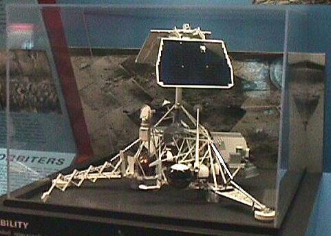 Image of : Model, Lunar Lander, Surveyor, 1/5 Scale
