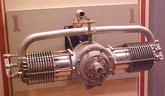 Image of : Kemp G-2 Horizontally-opposed Engine