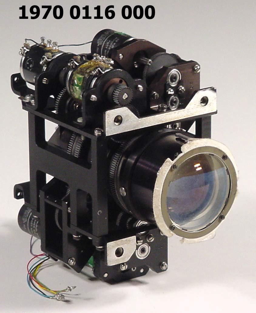 Image of : Camera, Lunar Lander, Surveyor, Variable Focal Length and Iris Assembly