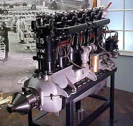 Image of : BMW Model IIIA In-line 6 Engine