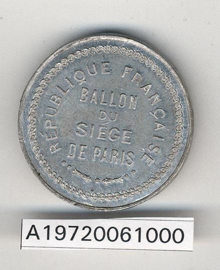 Image of : Jeton, Le Gal Cambronne