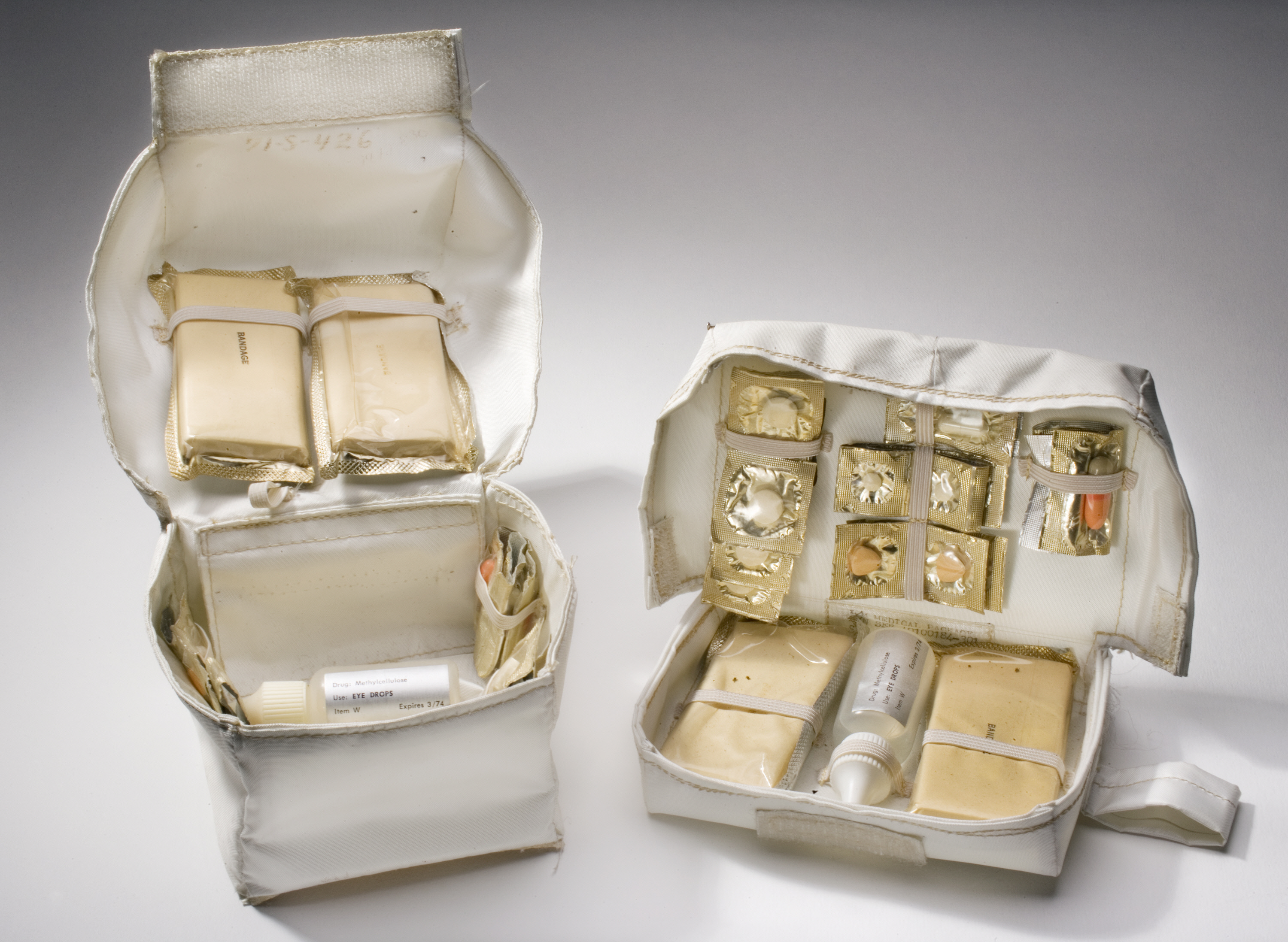 Image of : Kit, Medical Package, Lunar Module, Apollo 11