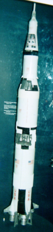 Image of : Model, Rocket, Saturn V, 1:48