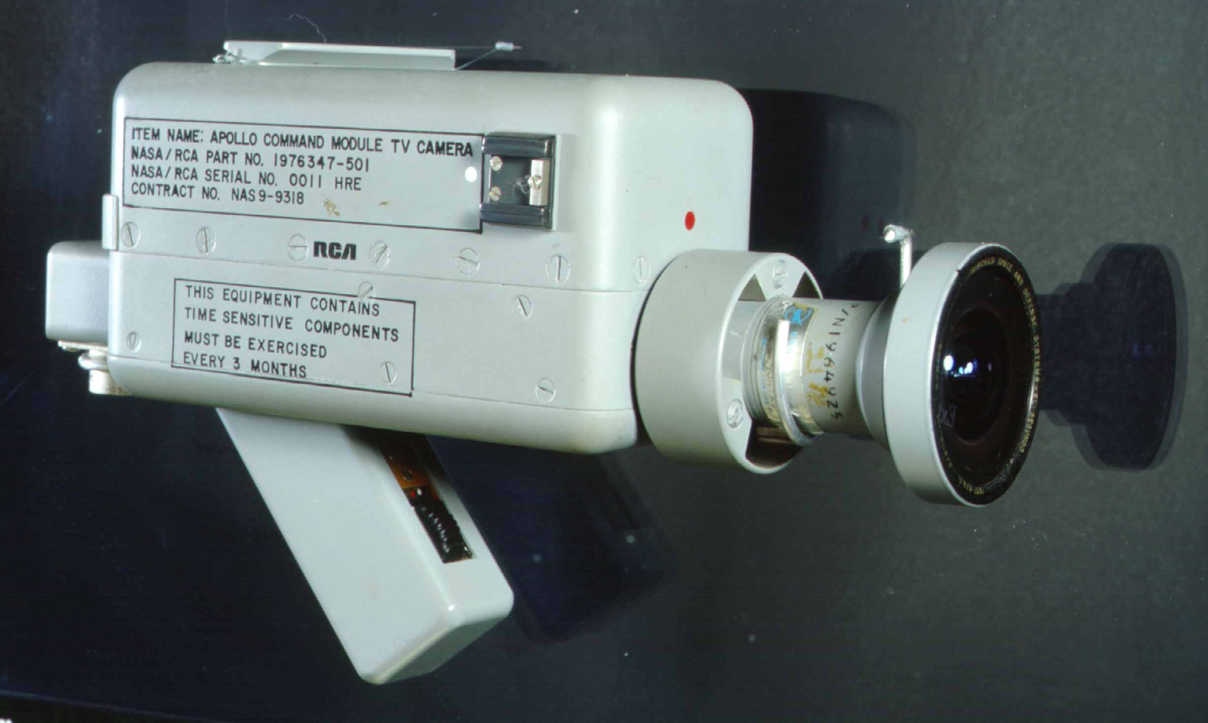 Image of : Camera, Television, Apollo 7, with Wide Angle Lens