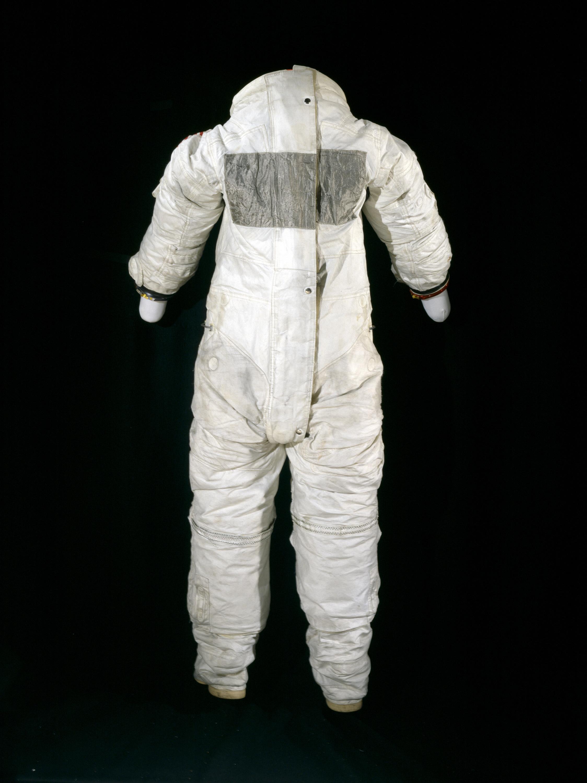Image of : Pressure Suit, A7-L, Aldrin, Apollo 11, Flown