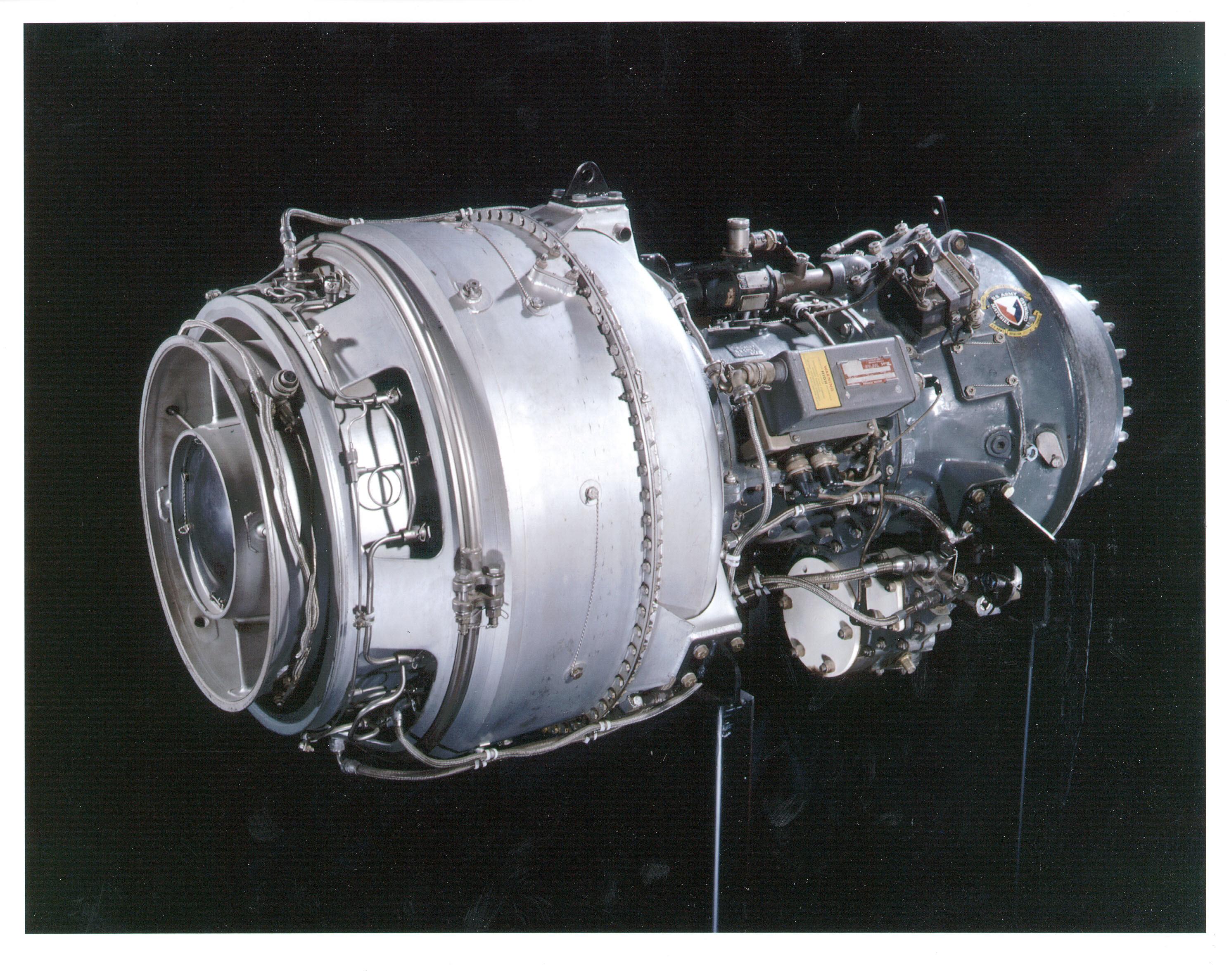 Image of : Lycoming T53-L-13 (LTC1K-4) Turboshaft Engine