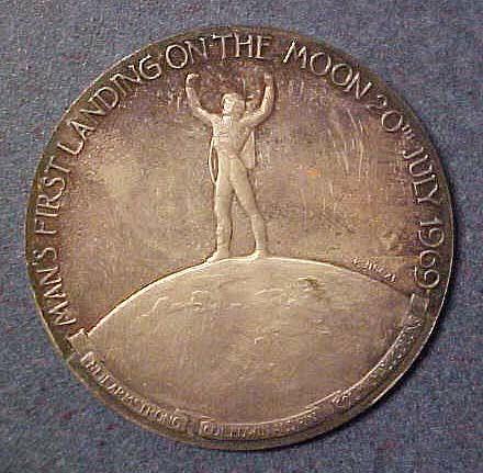 Image of : Medal, Commemorative, Apollo 11