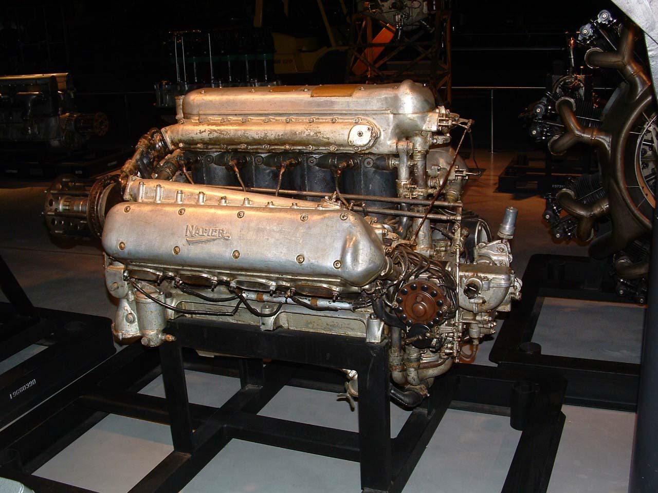 Image of : Napier Lion W-12 Engine