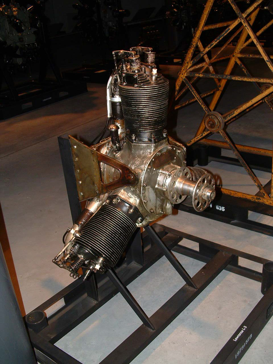 Image of : Lawrance L-3 Radial Engine