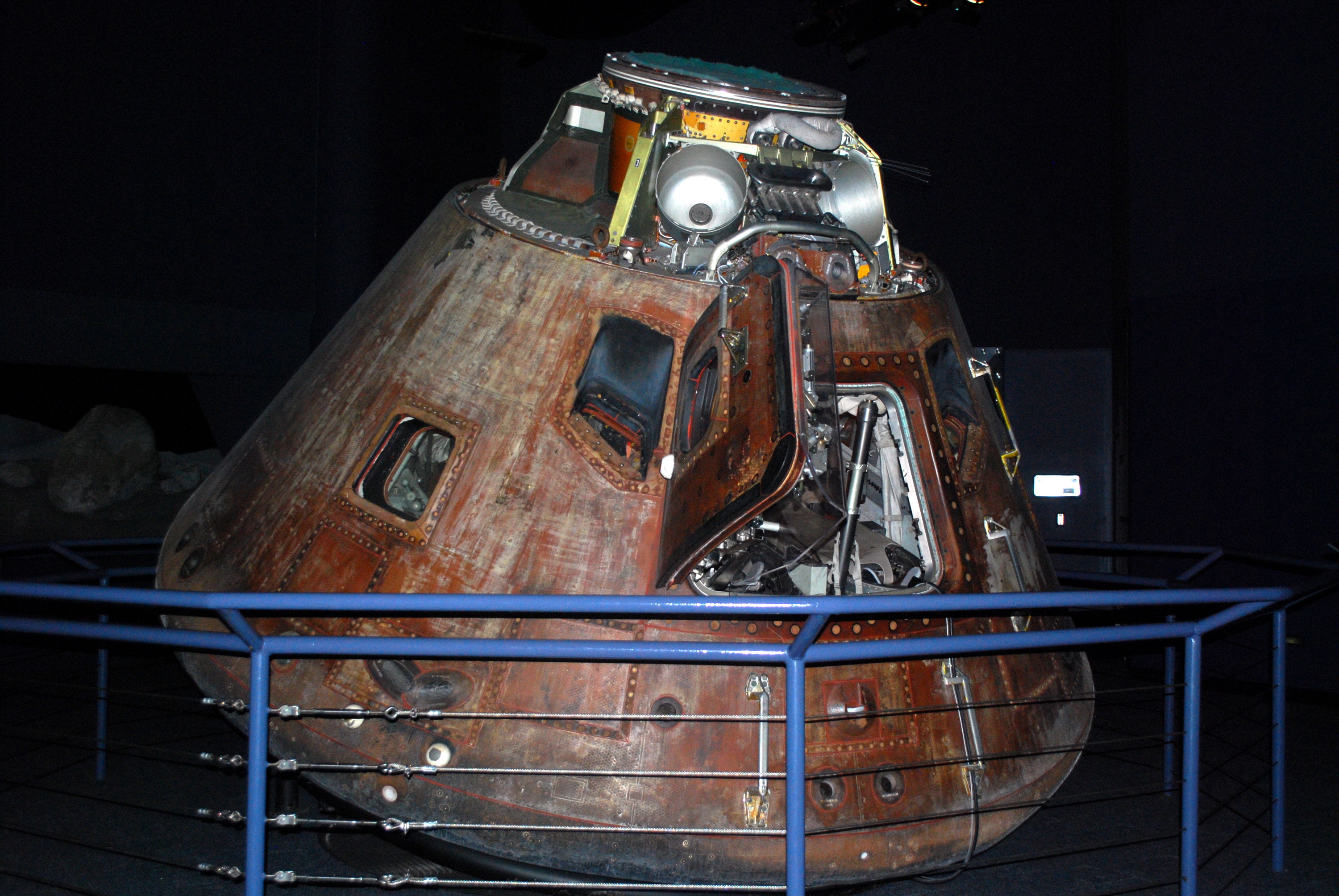 Command Module, Apollo 17 | National Air and Space Museum
