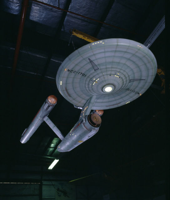 Image of : Model, Starship Enterprise, Television Show, Star Trek