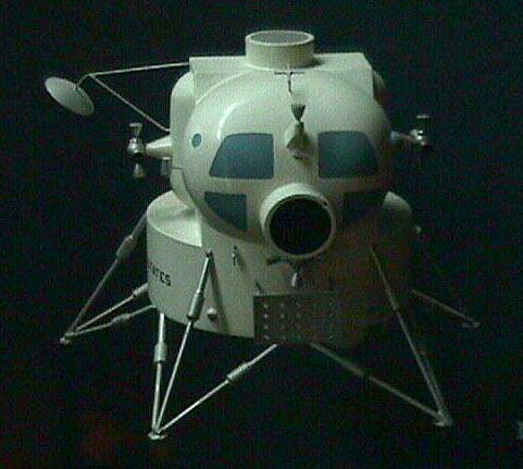 Image of : Model, Manned Spacecraft, Lunar Module