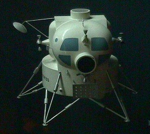 Image of : Model, Manned Spacecraft, Lunar Module