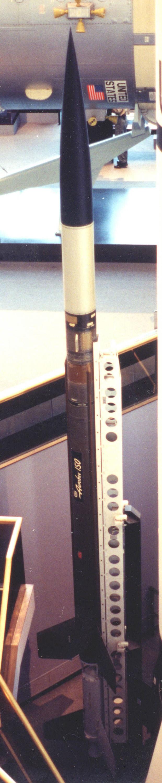 Image of : Rocket, Sounding, Aerobee 150