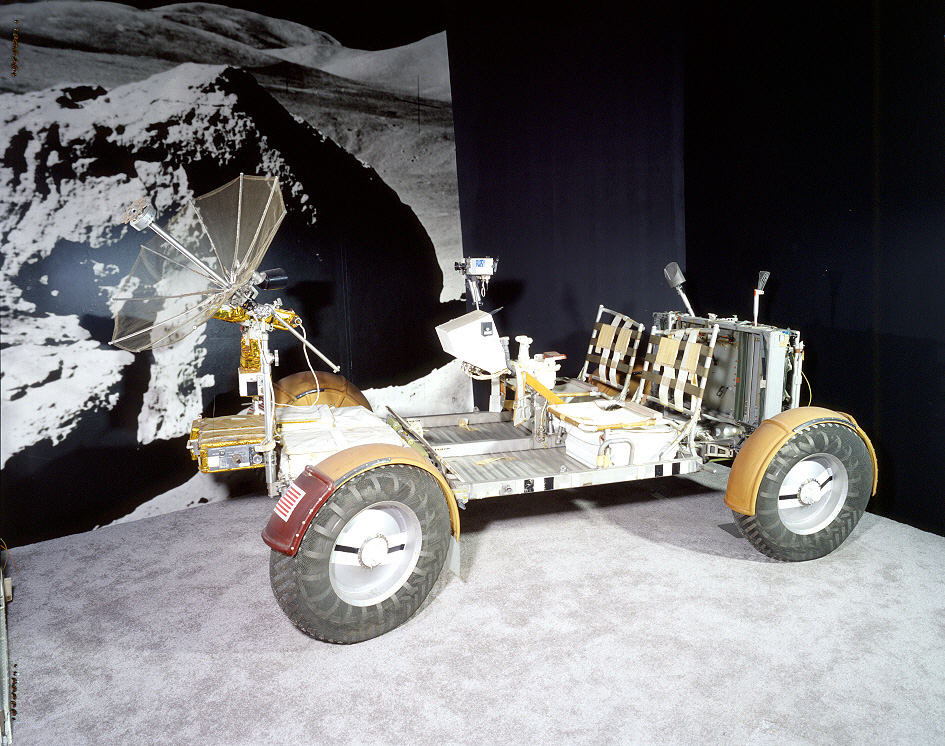 Image of : Lunar Roving Vehicle, Qualification Test Unit