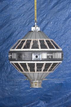 Image of : Satellite, Explorer 7, Replica