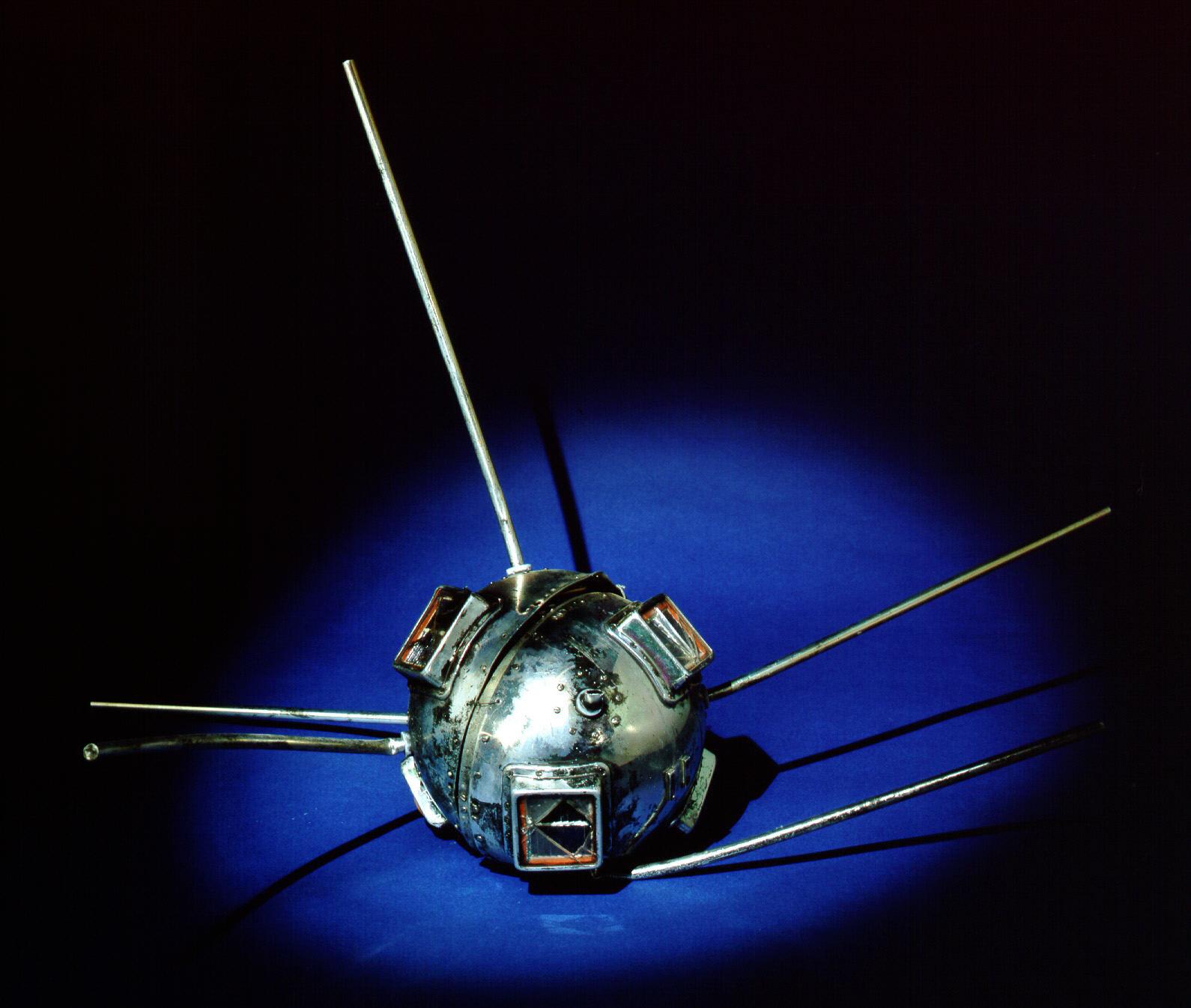 Image of : Satellite, Vanguard TV 3
