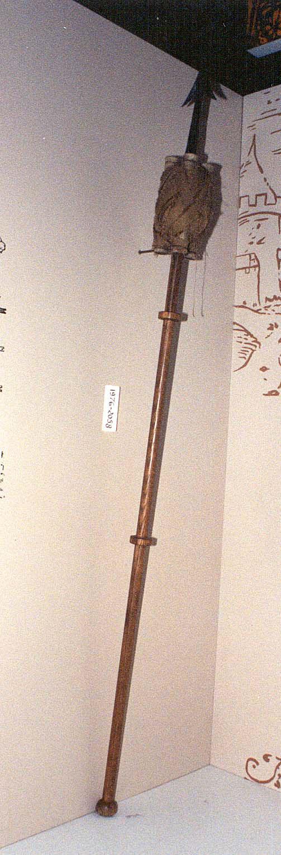 Image of : Model, Fire Arrow Rocket, Sweden, 17th Century