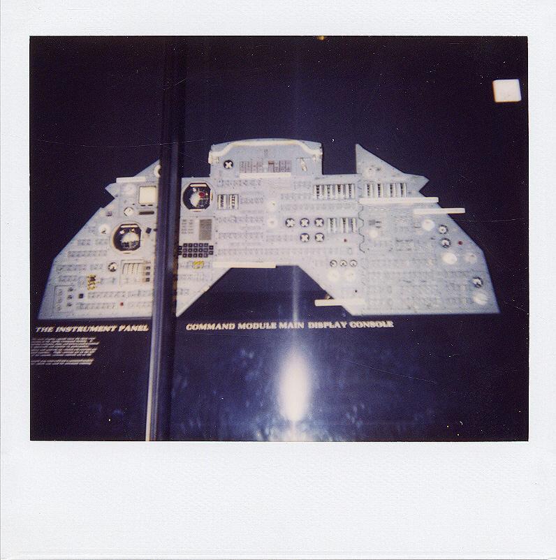 Image of : Instrument Panel, Trainer, Command Module, Apollo