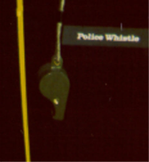 Image of : Whistle, Police, Freedom 7
