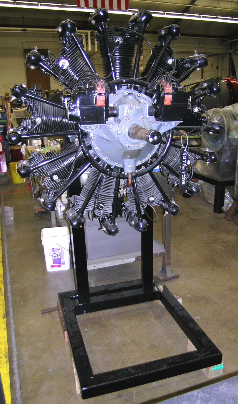 Image of : Wright Whirlwind J-5A-B Radial Engine