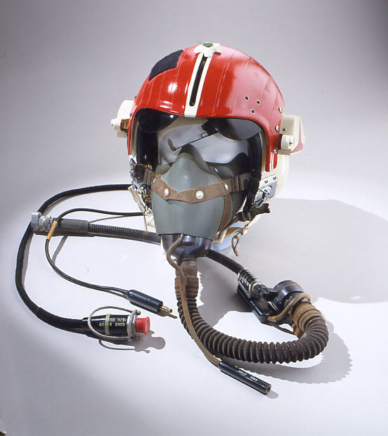 Image of : Helmet, Flying, Protective, Type HGU-30/P or VTAS I, United States Navy
