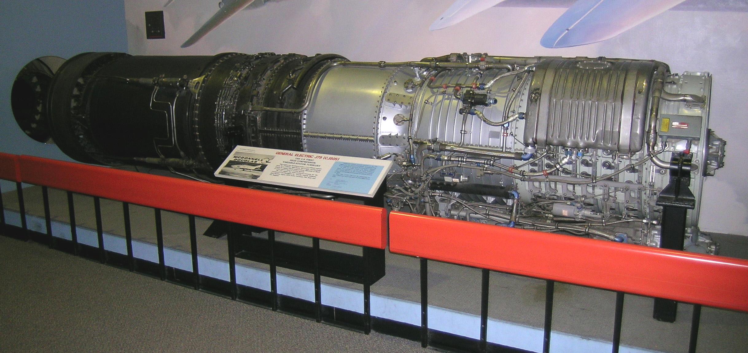 Image of : General Electric J79-GE-2 Turbojet Engine