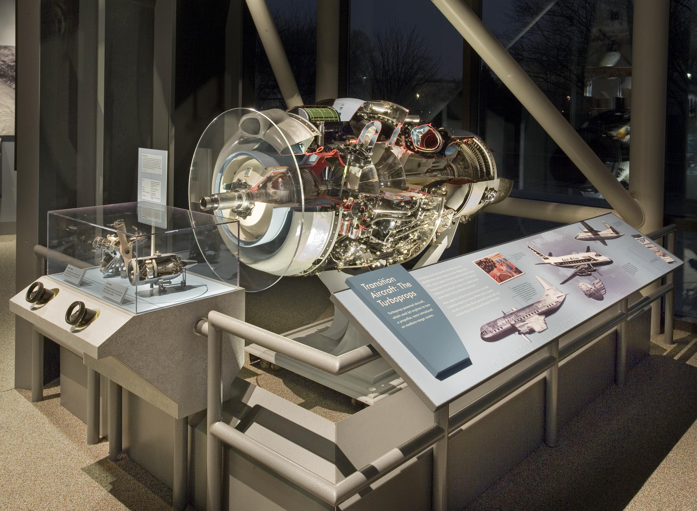 Image of : Rolls-Royce Dart Mk. 520 Turboprop Engine, Cutaway