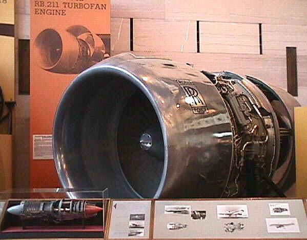 Image of : Rolls-Royce RB211-22 Turbofan Engine, Cutaway