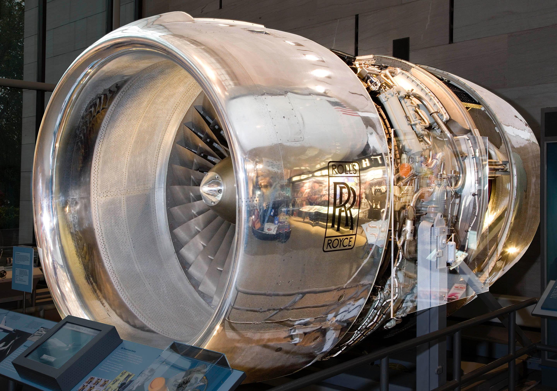 Rolls Royce Rb211 22 Turbofan Engine Cutaway National