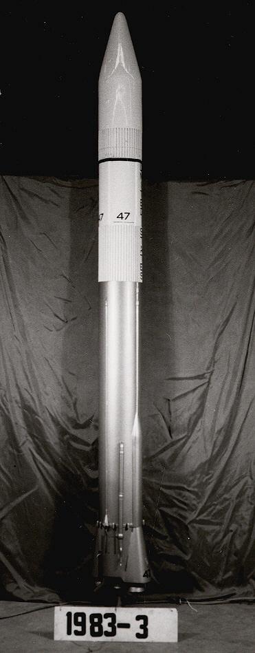 Image of : Model, Rocket, Atlas Centaur, 1:15