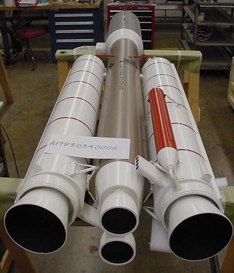Image of : Model, Rocket, Titan IIIE Centaur, 1:15