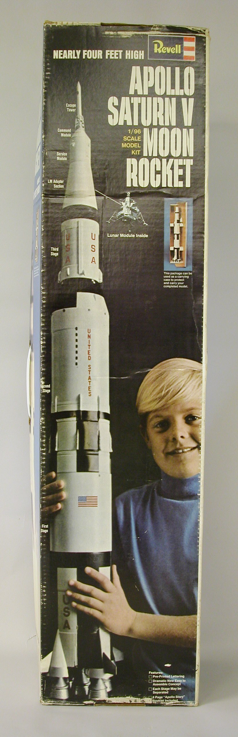Model Kit, Rocket, Saturn V, 1:96 | National Air and Space ...