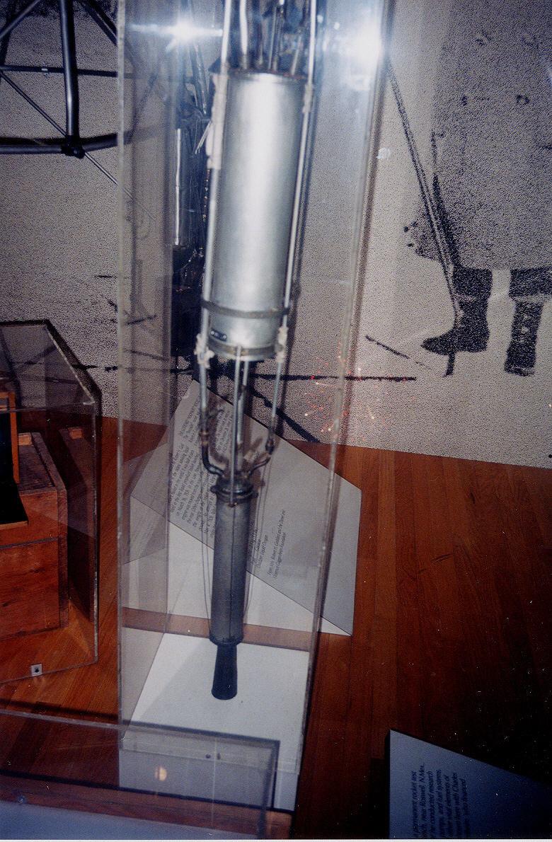 Image of : Rocket, Liquid Fuel, 4 May 1926, Goddard