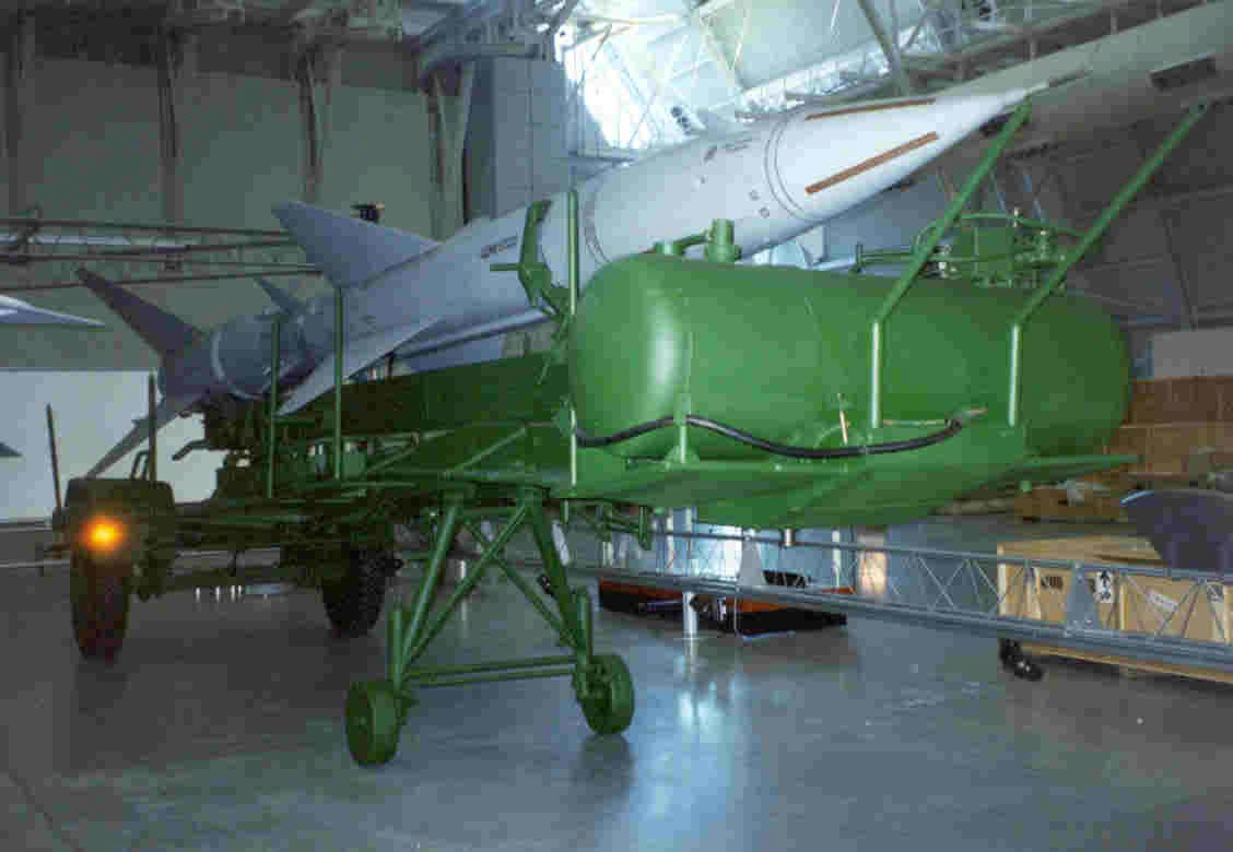 Image of : Missile, Surface-to-Air, SA-2 Guideline, Model SA-2B Mod 1