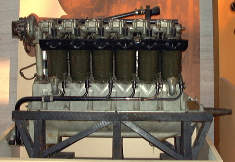 Image of : Liberty 12 Model A (Lincoln) V-12 Engine